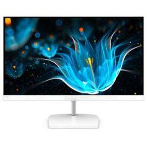 PHILIPS 243E9QHSW 23.6 Inches FreeSync No Flash Computer LCD Monitor – White
