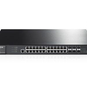 TP-LINK T2700G-28TQ JetStream 28-Port Gigabit Stackable L2+ Managed Switch