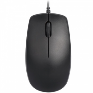 Delux M138BU Wired Optical USB Mouse (Black)
