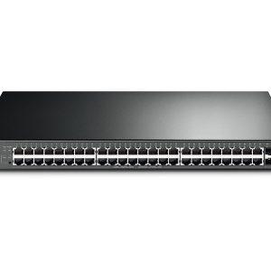 TP-Link T1600G-52PS(TL-SG2452P) JetStream 48-Port Gigabit Smart POE+ Switch W/4 SFP Slots Original