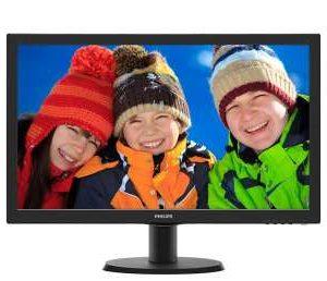 Philips 243V5QHSBA 23.6-inch Full HD LED Monitor