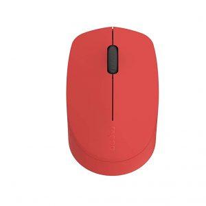 Rapoo M100 (Red) Silent Multi – Mode Mouse 1300dpi