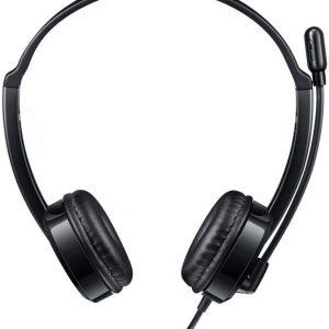 Rapoo H120 USB Stereo Headset, Black